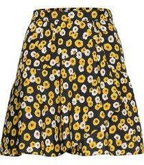jupe knälång kjol gul the kooples