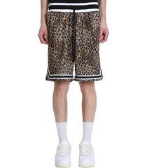john elliott game short shorts in animalier polyester