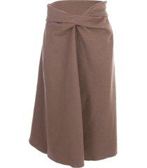 lemaire draped skirt