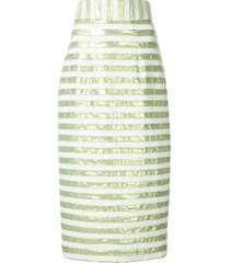 bambah striped pencil skirt - green