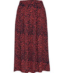 doma skirt knälång kjol röd nué notes