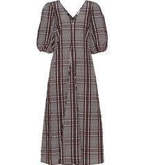 emily ss long dress jurk knielengte second female
