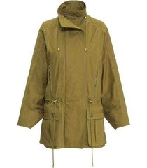 jas quilted dolman sleeve safari trench