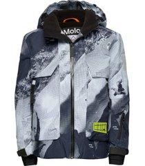 alpine outerwear snow/ski clothing snow/ski jacket grijs molo
