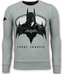 sweater local fanatic batman trui - batman sweater - truien -