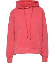 women´s top hoodie trui roze closed