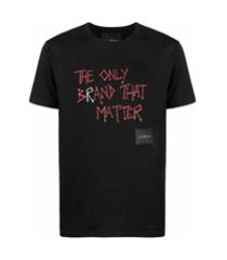 john richmond the only brand that matter t-shirt - preto