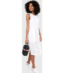 vestido blanco tommy hilfiger