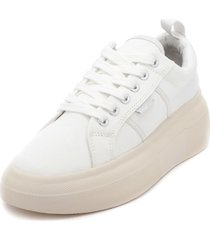 zapatilla canvas inflated blanco bamers