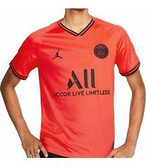 camiseta naranja nike psg stadium away aj5552-613
