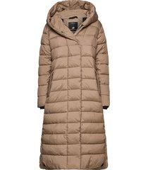 stella wns coat 2 gevoerde lange jas beige didriksons