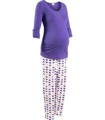 pigiama per l'allattamento (viola) - bpc bonprix collection - nice size