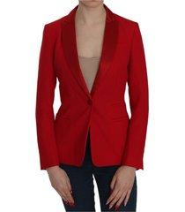 single breasted met lange mouwen formeel jacket blazer