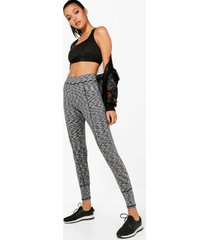 fit spacedye high waisted contour legging, grey