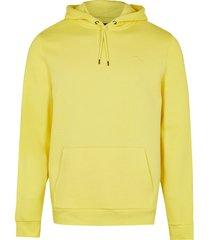 river island mens yellow ri slim fit hoodie