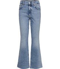 daisy kick flare jeans wijde pijpen blauw allsaints