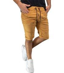 bermuda jogger mostaza manpotsherd ref: joggshort