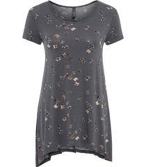 t-shirt con farfalle (grigio) - rainbow