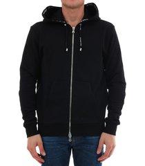 balmain hoodie sweatshirt black