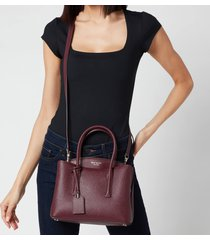 kate spade new york women's margaux medium satchel - deep cherry