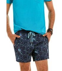 traje de baño bicolor azul ferouch