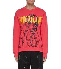 'haculla dracula' print sweatshirt