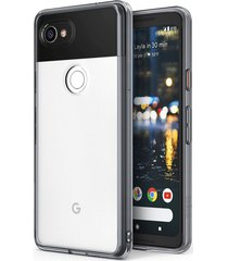 estuche protector ringke fusion google pixel 2 xl - transparente