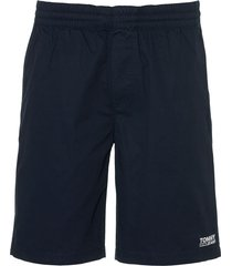 tommy jeans short - slim fit - blauw