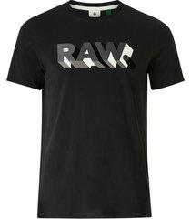 t-shirt raw text slim r t