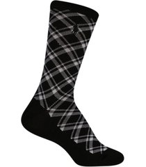 polo ralph lauren women's holiday plaid crew socks