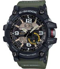 g-shock 'mudmaster' ana-digi watch, 56mm