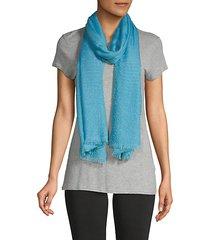 frayed rectangular scarf