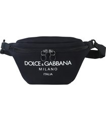 dolce & gabbana designer men's bags, printed pouch