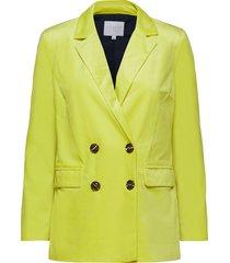 suit jacket w. button closure blazer kavaj gul coster copenhagen