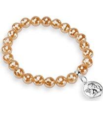 katie's cottage barn agate faceted bracelet