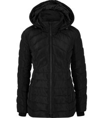 giacca trapuntata con cappuccio rimovibile (nero) - bpc bonprix collection