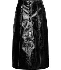 shaene knälång kjol svart baum und pferdgarten