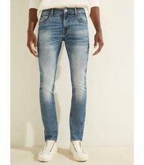 jeansowe spodnie fason skinny