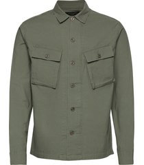 troop ls shirt overshirts groen allsaints
