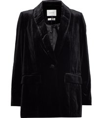 adalizgz blazer ye19 blazer colbert zwart gestuz