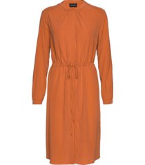 cdc stretch - zihia dress jurk knielengte oranje sand