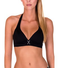 bikini lisca zwart gran canaria gepantserd zwempak topje