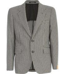 pied de poule jacket w/2 buttons