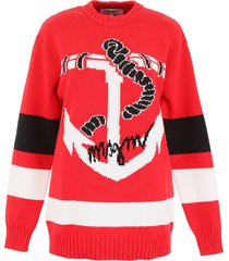 msgm anchor pullover