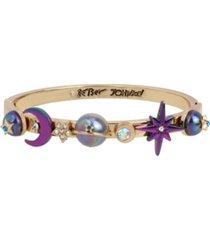 betsey johnson celestial bangle bracelet