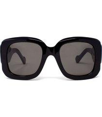 balenciaga balenciaga bb0069s black sunglasses