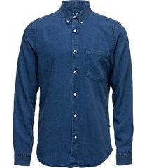 falk 5767 overhemd casual blauw nn07
