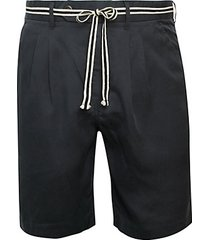 tailo soft pleated shorts