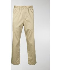 oamc cropped straight leg trousers