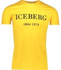 iceberg t-shirt yellow